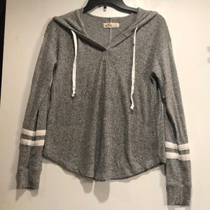 Hollister Gray Hoodie.  Size small